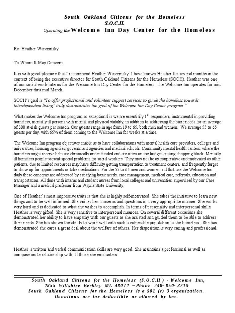 Second Letter Of Recommendation Medicine Psychology Cognitive