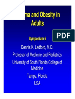 Asthma and Obesity in Adults-Ledford