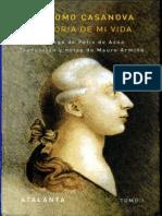 189384408 Casanova Giacomo Historia de Mi Vida Libro II