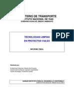 Tecnologias Limpias en Proyectos Viales
