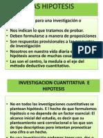 Las Hipotesis[1]