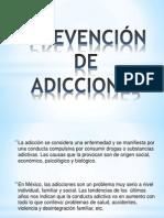 Prevención de Adicciones