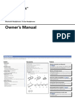 Denon Globe Cruiser AH-W200 Owners Manual
