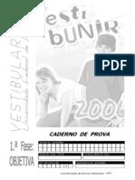 37_caderno_de_prova_1_objetiva_unir_2006