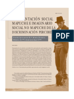 Mapuche Imaginario Social y Discriminacion