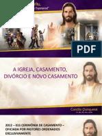 Pr. Carlos Hein Casamento