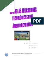 aplicaciones tecnologicas deportivas