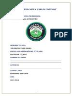 Formato Pg Uecc Memoria Tecnica Corregido