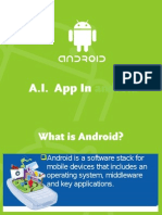 ANDROID APP FOR ARTIFICIAL INTELLIGENCE