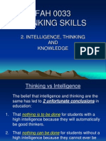 l2 - Inteligence, Thinking and Knowledge
