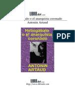 heliogabalooelanarquistacoronadoantoninartaud