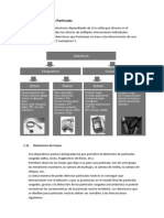 Tipos de Detectores de Particulas