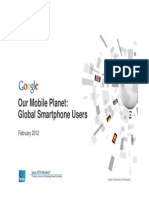 Global Smartphones Users by Google