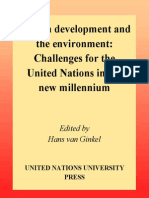 United Nations University Conference on the Threshold