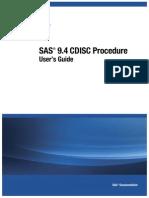 SAS® 9.4 CDISC ProcedureUser's GuideSAS