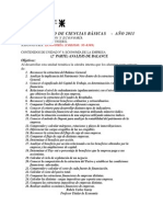 Unidad N°8 Analisis de balance- 2011