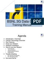 BSNL 3G Data Card Training
