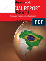 SPECIAL REPORT BRAZIL - Making an impact on the global stage