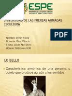 Categorías Estéticas Byron Freire