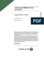 Alcatel Lucent RRH60 21C Site Specification V02.01 Dec10