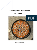 The Squirrel Who Came to Dinner 6 x 9 size