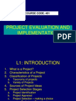 PE L1 Project Management