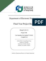 FYP Report Libre