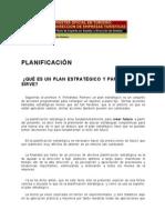 Lectura PLANIFICACION