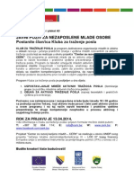 CERK KTP Tekst Za Radio Jinglove i Plakat A3