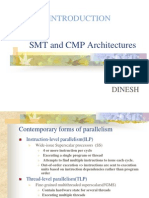 SMT and CMP Architectures