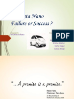 tata nano failure or success