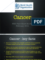 Cancer WHO 2011