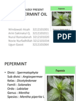 ppt pepermint oil