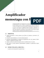 TAE_Práctica 1 Amplificador Monoetapa Con BJT