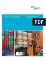 Bills of Lading March 2011