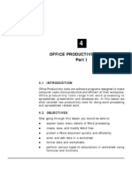 Bank PO Study Notes Office Productivity Tools (Part I) (3.13 MB)