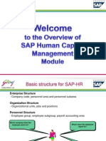 SAP HR Overview