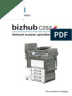 Bizhub c252 Um Scanner-operations en 1-1-0 Phase3