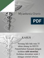 Myasthenia Gravis Ppt