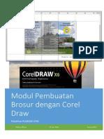 Modul Brosur Corel Draw