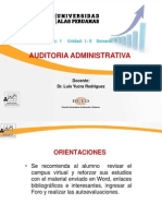 Semana 1 Fundamentos de Auditoria