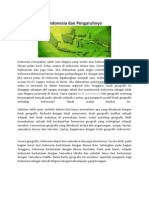 Letak Geografis Indonesia Dan Pengaruhnya