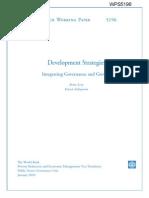 Development Strategies