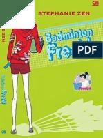 Stephanie Zen-badminton Freak!