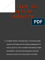 Strikes in Airline Industry