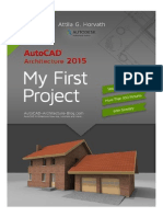 AutoCAD Architecture 2015 Tutorial eBook (Metric version)
