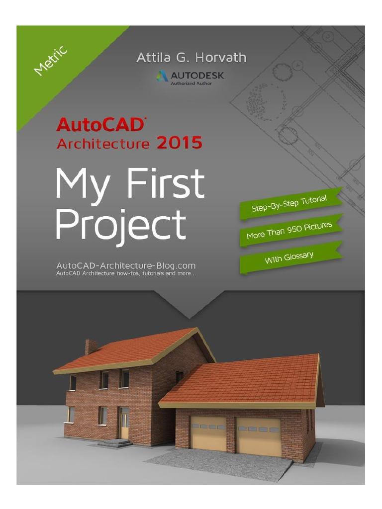 autocad architecture 2015 tutorial ebook metric version button