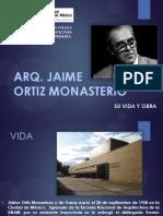 Presentacion Arq.jaime Ortiz Monasterio