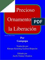 Gampopa - El Precioso Ornamento de La Liberacion