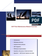 SAP PM Overview Clean